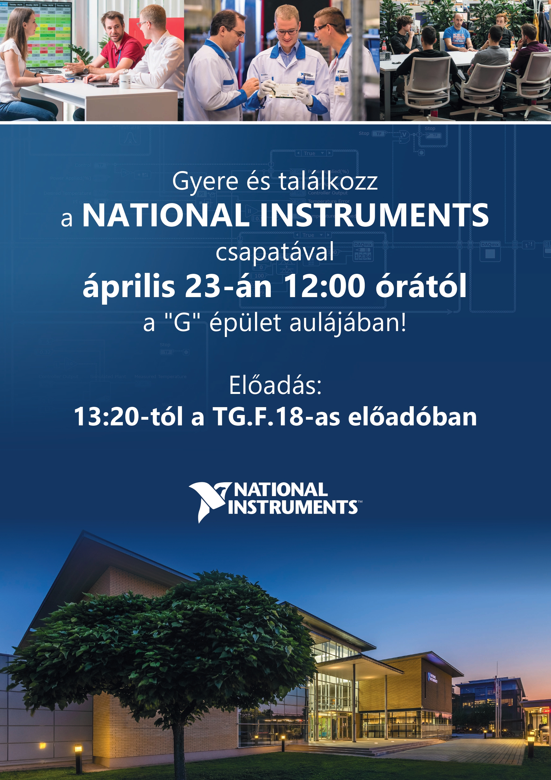 National Instruments plakát